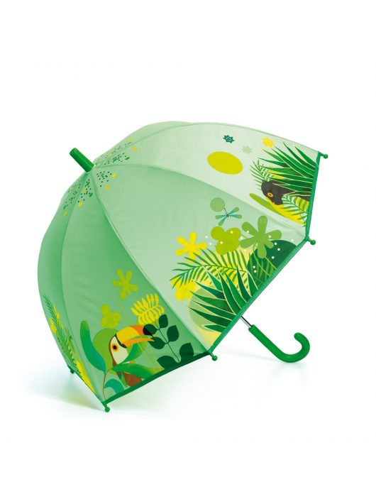 DJECO - LITTLE BIG ROOM Esernyő - Trópusi dzsungel - Tropical jungle Djeco