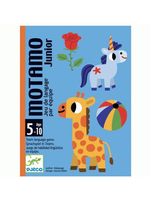 DJECO - JÁTÉKOK Kártyajáték - Pici-mondandó - MotaMo Junior