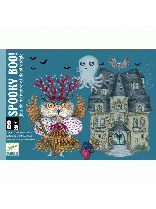 Kártyajáték - Spooky Boo! Djeco