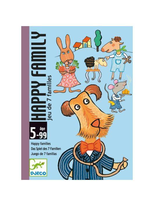 Kártyajáték - Boldog család - Happy family Djeco