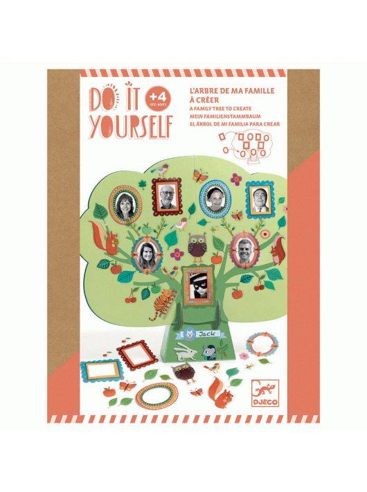 Csináld magad! - Családfa - A family tree to create - FSC MIX Djeco