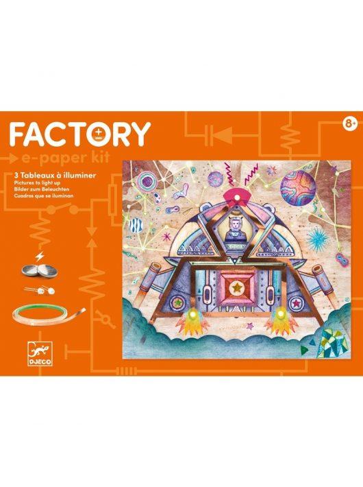 E-kreatív műhely - Űrutazás - Odyssey Djeco