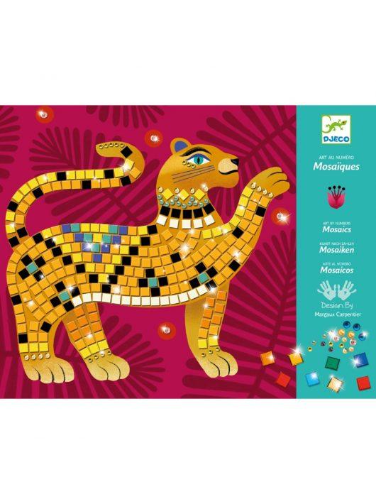 Művészeti műhely - A dzsungel mélyén mozaik készlet - Deep in the jungle Djeco