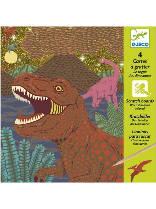 Karckép technika - Dinoszauruszok - Dinosaurs Djeco