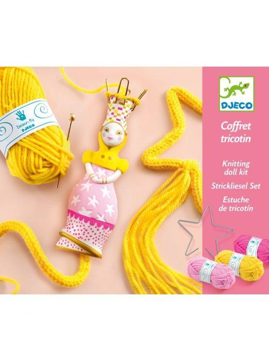 Francia kötés - Wool - French knitting Princess Djeco